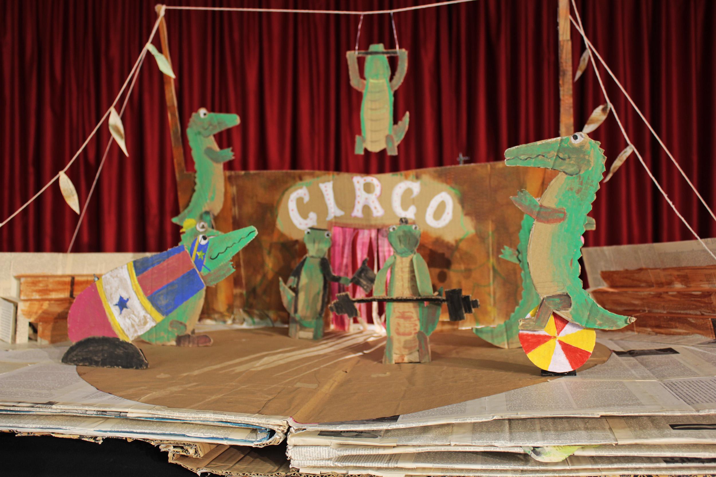 cocodrilos circo